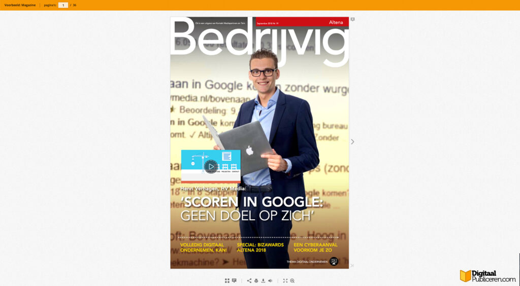 online publicatie